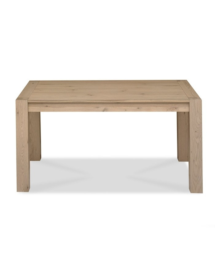 Turin Aged Oak 6 Seater Dining Table – Brand Interiors Pertaining To Oak 6 Seater Dining Tables (View 18 of 25)