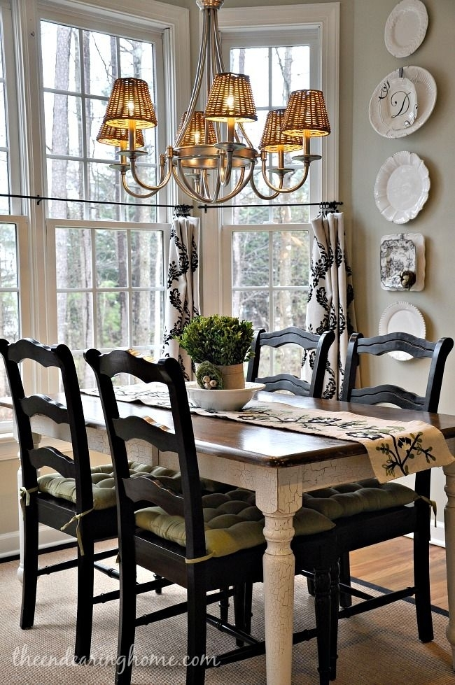 Turning Our Back Porch Dreaming Into A Reality – Part 2 | Home Is Throughout Country Dining Tables (View 12 of 25)