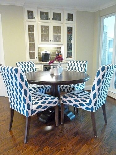 Tutorial: Customizing Your Ikea Slipcovers | Diy | Pinterest | Ikea With Fabric Dining Room Chairs (View 12 of 25)