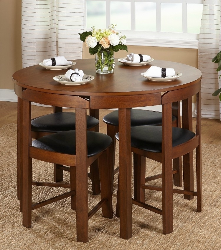 Twenty Dining Tables That Work Great In Small Spaces – Living In A Throughout Cheap Dining Tables And Chairs (View 17 of 25)