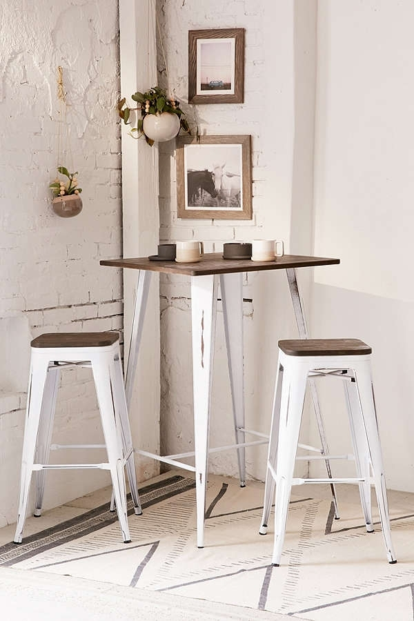 Twenty Dining Tables That Work Great In Small Spaces – Living In A Within Dining Tables For Two (Image 22 of 25)