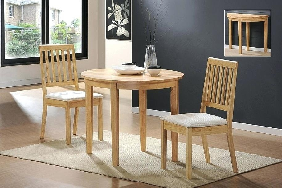 Two Chair Dining Table Set A Family Kitchen With A Dining Table And In Two Chair Dining Tables (Image 18 of 25)