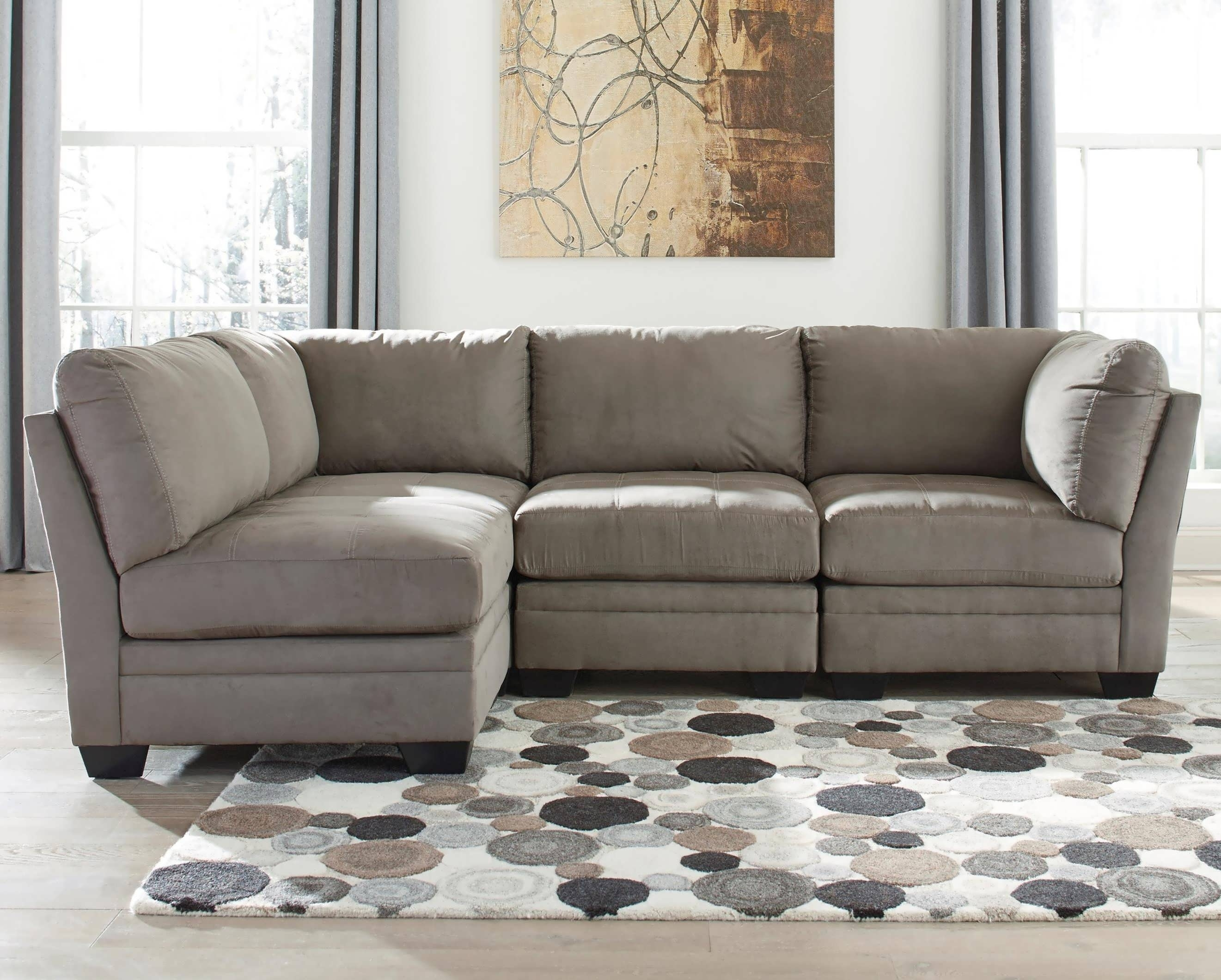 Two Piece Sectional Sofa Covers Everest With And Chaises Ashley Inside Meyer 3 Piece Sectionals With Laf Chaise (Image 25 of 25)