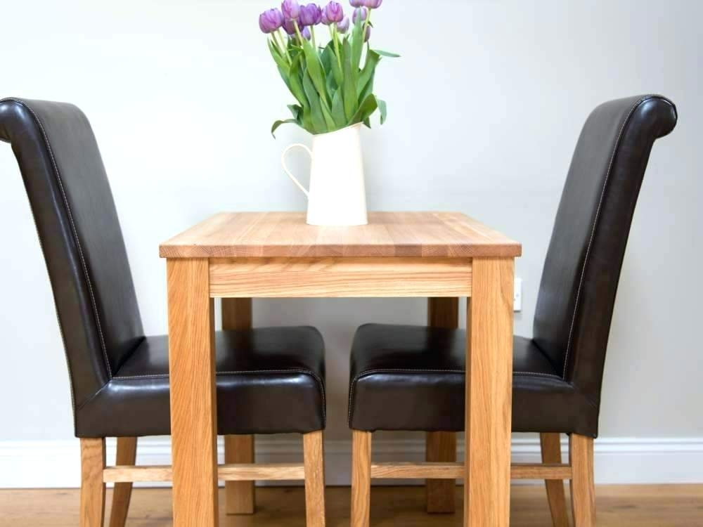 Two Seat Dining Table Round White Gloss 2 Dining Set Chairs 10 Seat Regarding Two Chair Dining Tables (Image 20 of 25)
