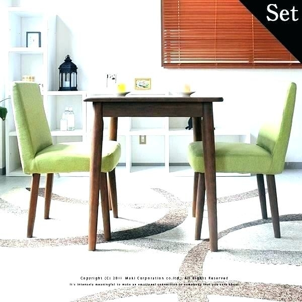 Two Seat Dining Table Small For 2 6 Ebay – Alpenduathlon Inside Two Seat Dining Tables (View 7 of 25)