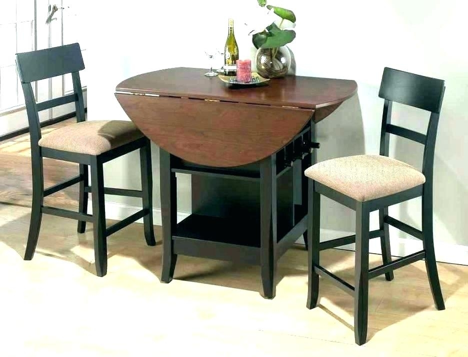 Two Seat Kitchen Table 2 Person Kitchen Table 2 Person Dining Table Intended For Two Chair Dining Tables (View 11 of 25)