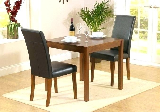 Two Seat Kitchen Table With 2 Seater Dining Tables Modern Home With In Dining Tables With 2 Seater (View 24 of 25)