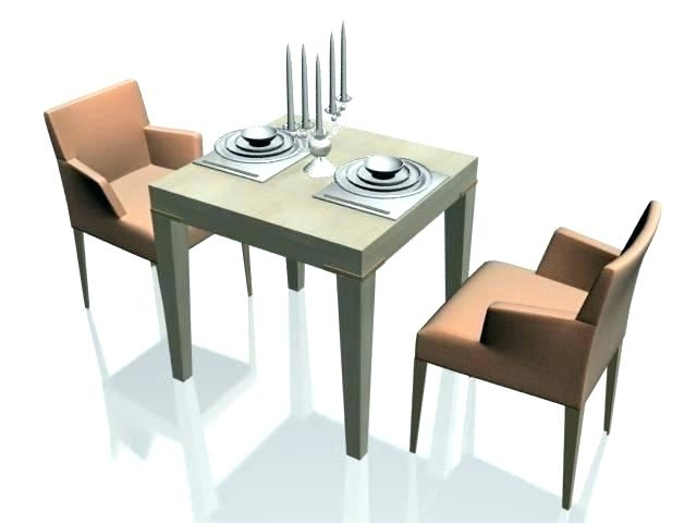 Two Seater Dining Table Chair Attractive 2 Seat And Chairs With Regard To Dining Tables With 2 Seater (View 6 of 25)