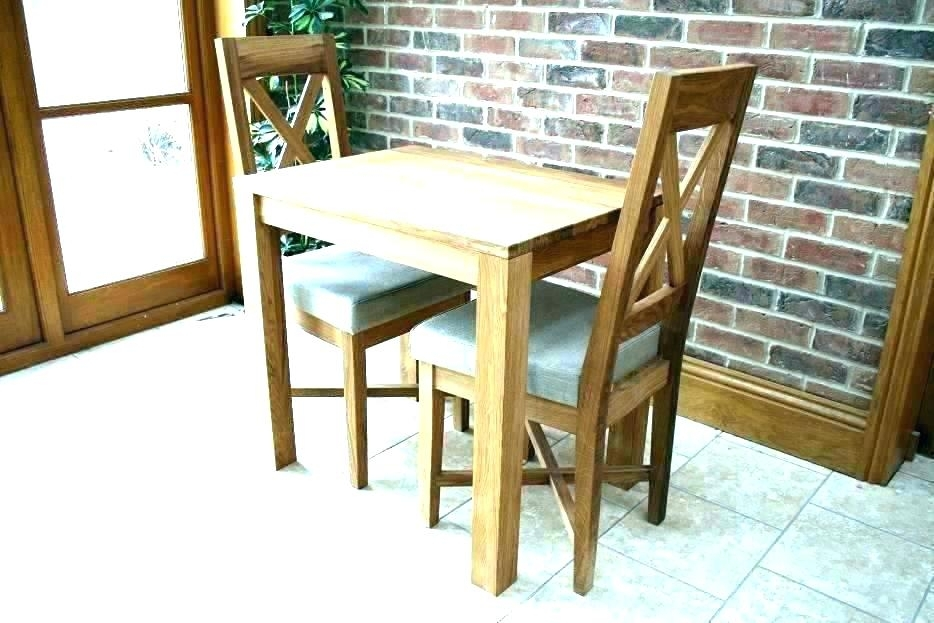 Two Seater Dining Table – Fuderoso Pertaining To Small 4 Seater Dining Tables (Image 23 of 25)