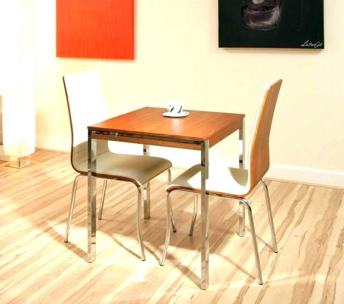 Two Seater Dining Tables Incredible 2 Dining Table Set Kitchen Table Pertaining To Two Seat Dining Tables (Image 23 of 25)