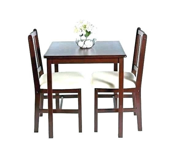 Two Seater Dining Tables Our Affordable Small Dining Table Sets For Pertaining To Two Chair Dining Tables (View 15 of 25)