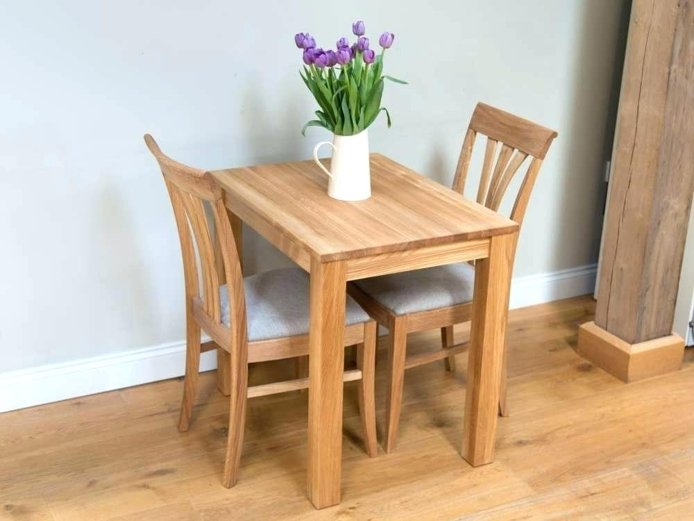 Two Seater Dining Tables Our Affordable Small Dining Table Sets For With Regard To Two Seat Dining Tables (Image 24 of 25)