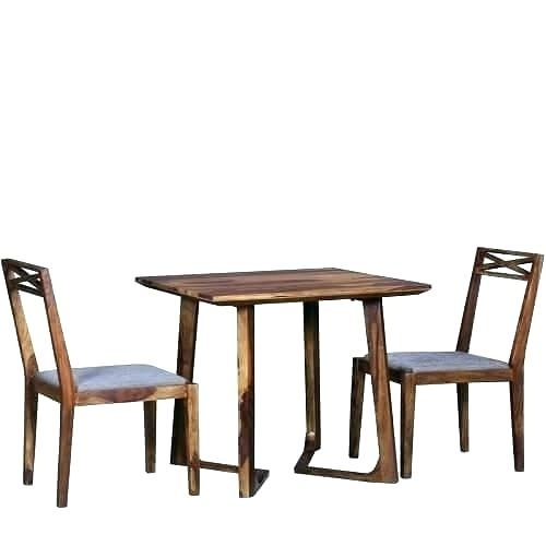 Two Seater Table And Chairs Inspiring 2 Dining Tables And Chairs For In Two Seat Dining Tables (View 22 of 25)