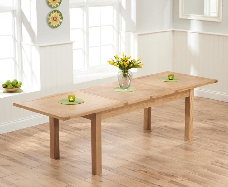 Udine Solid Oak 180Cm Extending Dining Set With 6 Worksop Black Throughout Oak Extending Dining Sets (Image 24 of 25)