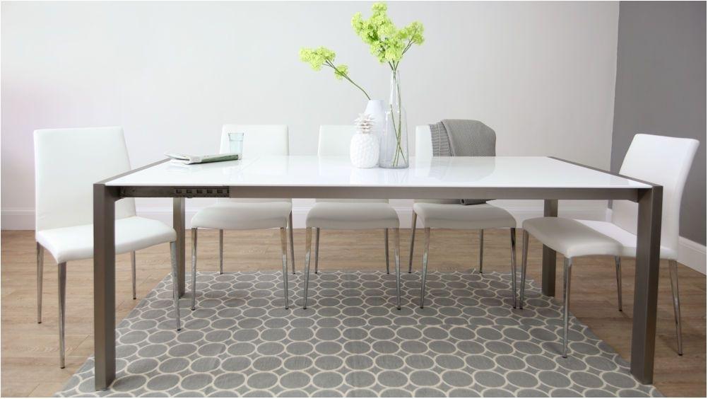 Unbelievable Metal Dining Table | Morrison6 Pertaining To Brushed Metal Dining Tables (View 2 of 25)