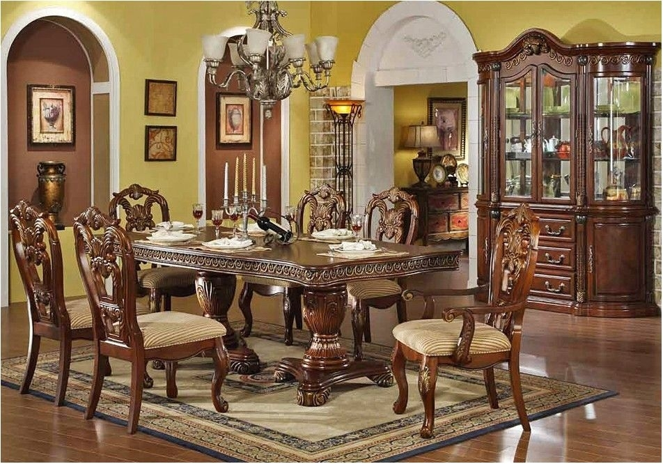 Unbelievable Traditional Wood Dining Tables Traditional Wood Dining inside Traditional Dining Tables