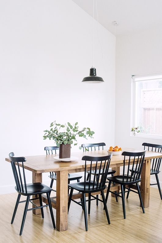 Unexpected Guests: Nathiya Prathnadi | ++ Sfgirlbybay Blogs ++ In Black Dining Chairs (View 24 of 25)