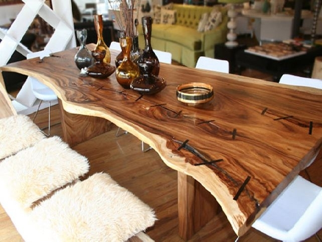 Unique Dining Room Tables – Thetastingroomnyc Regarding Unusual Dining Tables For Sale (Image 13 of 25)