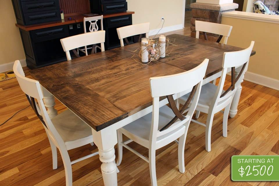 Unique Farmhouse Table I The Common Table With French Farmhouse Dining Tables (Image 23 of 25)