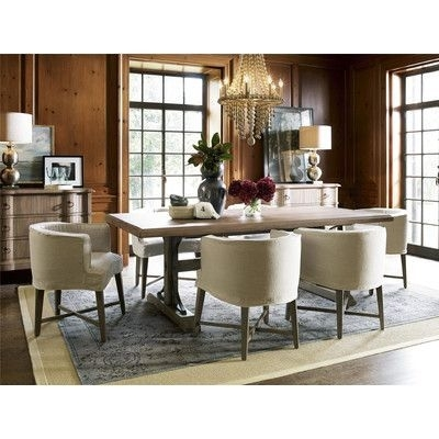 Universal Furniture Authenticity 7 Piece Dining Set | Products Within Chapleau Ii 7 Piece Extension Dining Table Sets (View 2 of 25)
