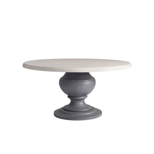 Universal Furniture Bungalow Round Dining Table | Round Dining Table regarding Caira Black Round Dining Tables