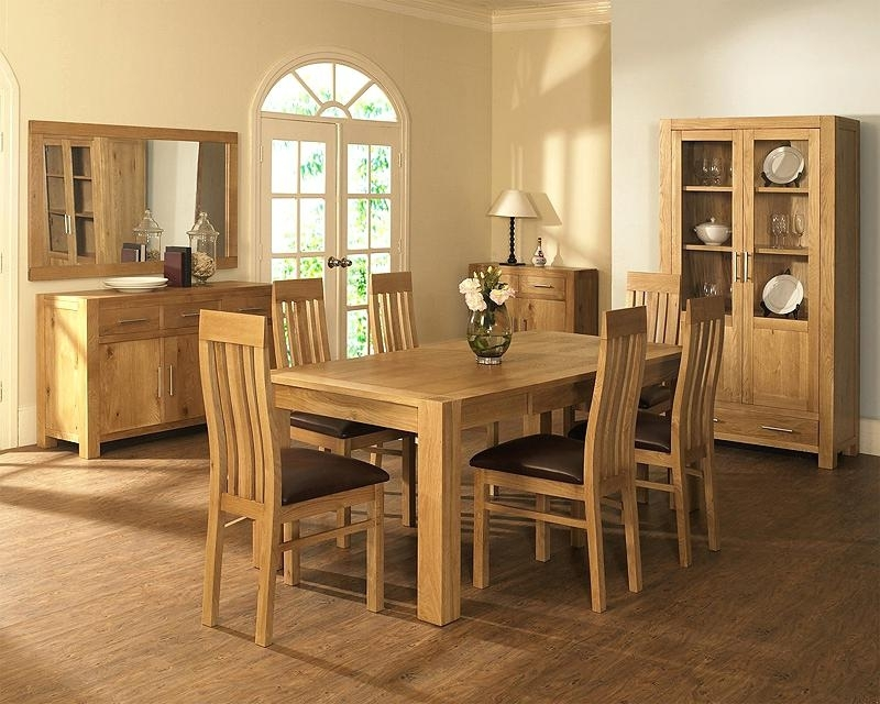 Unusual Light Oak Table And 6 Chairs Image Concept – Top1000 For Light Oak Dining Tables And 6 Chairs (View 14 of 25)