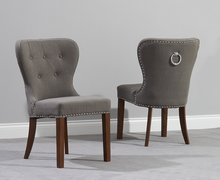 Upholstered Dining Chairs – Dining Chairs – Dining Chairs Nottingham Inside Oak Fabric Dining Chairs (Image 25 of 25)