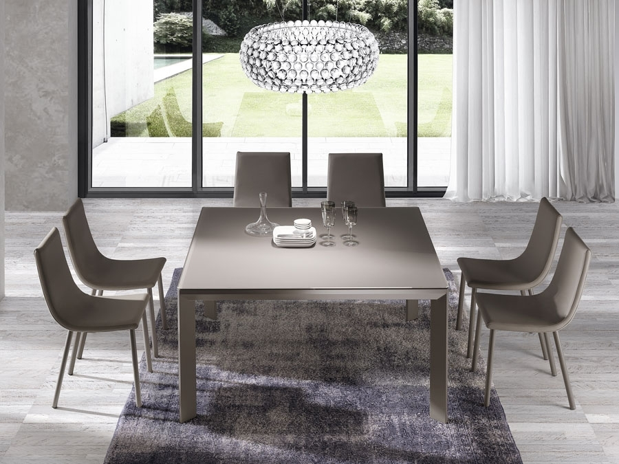 Urban Square Dining Table In Square Dining Tables (Image 24 of 25)
