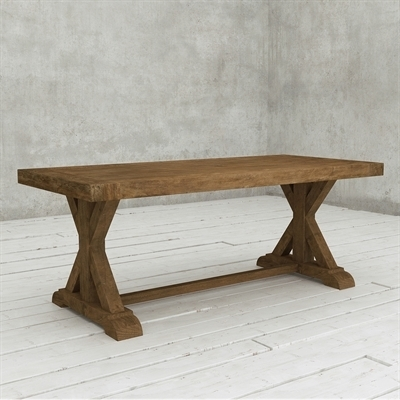 Urban Woodcraft 500L.78Dt.xb Sardegna Reclaimed Wood Dining Table with regard to Cheap Reclaimed Wood Dining Tables