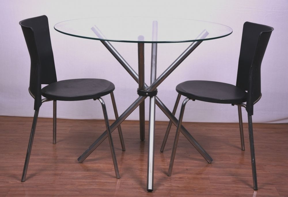 Used 2 Seater Dining Table Bangalore | Free Delivery Chocolatefurnish Inside Two Seater Dining Tables (Photo 23 of 25)
