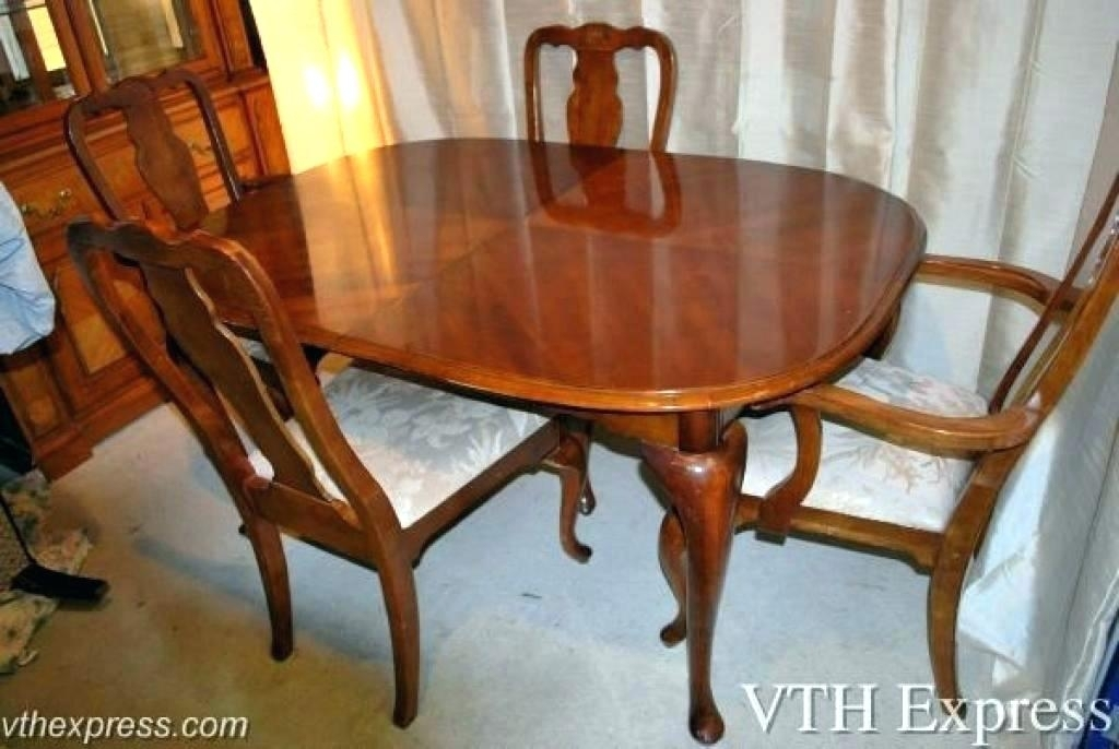 Used Dining Furniture – Mumbly World Intended For Second Hand Oak Dining Chairs (Photo 15 of 25)