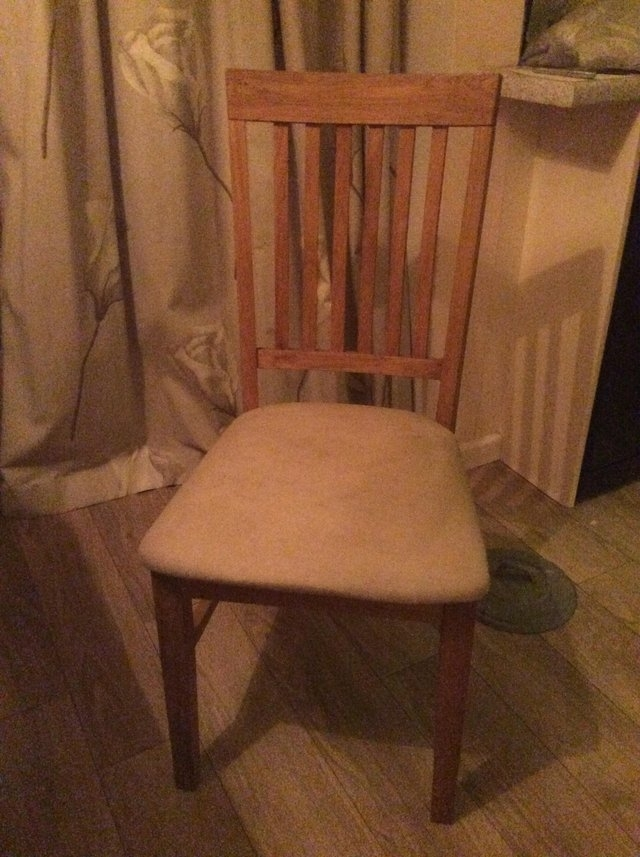 Used Oak Dining Chairs - Second Hand Household Furniture, Buy And inside Second Hand Oak Dining Chairs