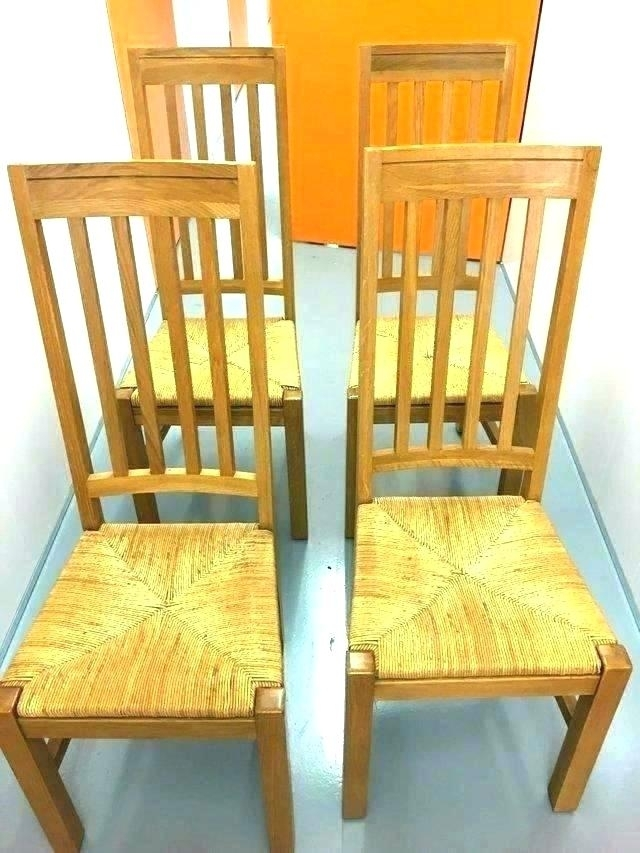 Used Oak Table And Chairs For Sale – Daytonschoolsng Inside Second Hand Oak Dining Chairs (Photo 1 of 25)