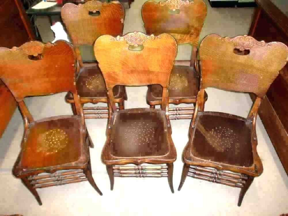 Used Oak Table And Chairs For Sale – Daytonschoolsng Regarding Second Hand Oak Dining Chairs (View 8 of 25)