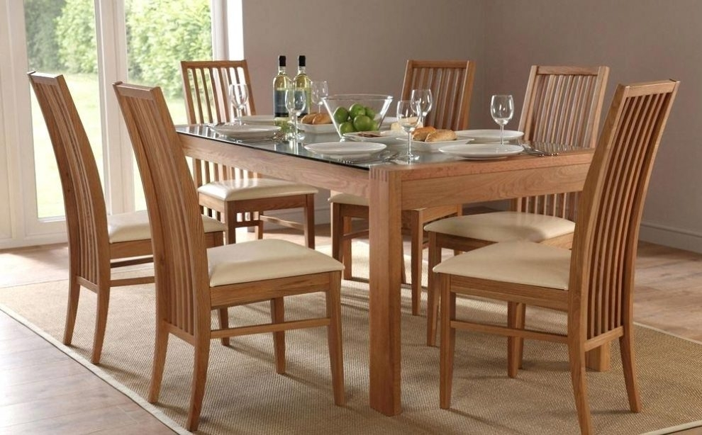 Using Dining Table Set 6 Seater Regarding 6 Seat Dining Tables And Chairs (View 14 of 25)