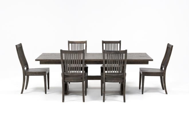 Featured Image of Valencia 72 Inch 7 Piece Dining Sets