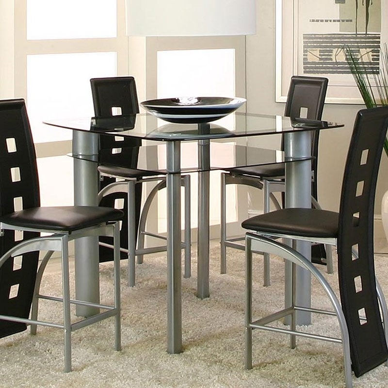 Valencia Counter Height Table - Dining Room And Kitchen Furniture pertaining to Valencia 5 Piece Counter Sets With Counterstool