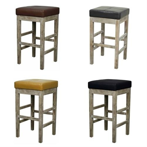 Valencia Square Backless Counter Stool Mystique Gray Legs In Valencia 4 Piece Counter Sets With Bench & Counterstool (Image 22 of 25)