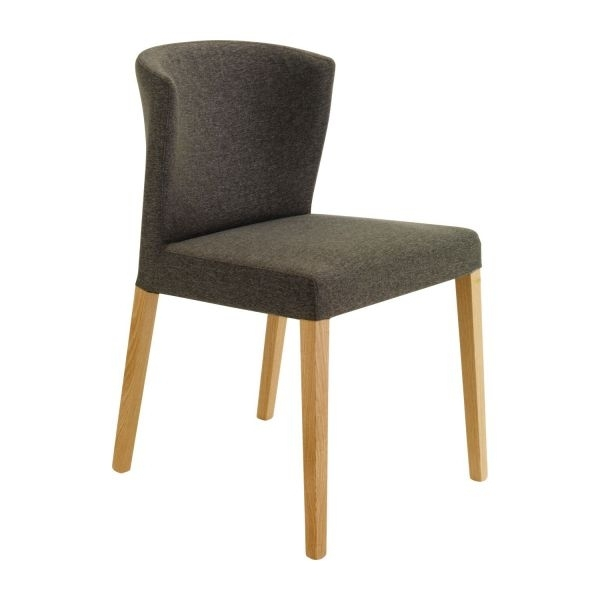 Valentina Dining Room Chairs Charcoal Fabric Wood – Habitat With Regard To Fabric Dining Room Chairs (Photo 11 of 25)