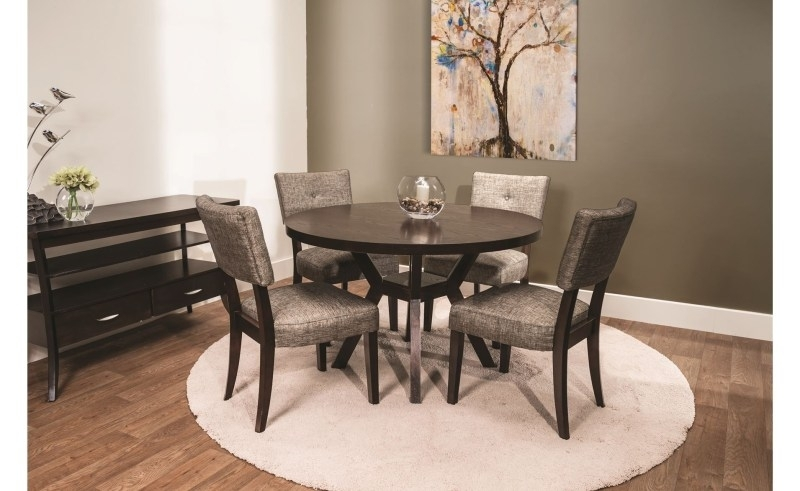 Van Wert Dining Chairs | Beauty Within Clinic in Macie Round Dining Tables