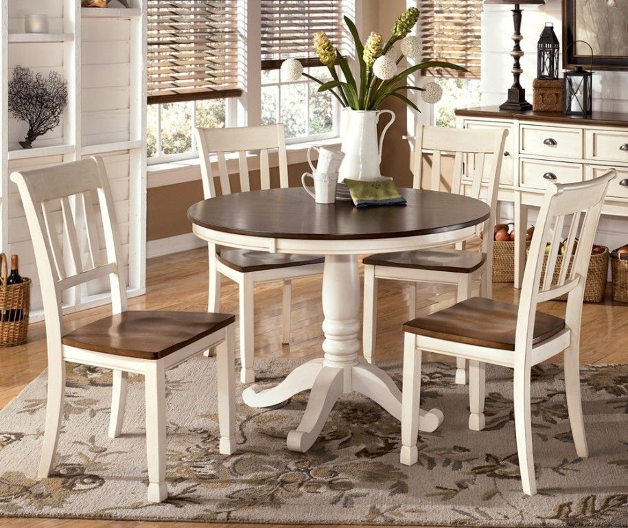 Varied Round Dining Table Sets And Their Kinds: Simple Dining Set Throughout Cheap Round Dining Tables (Image 25 of 25)