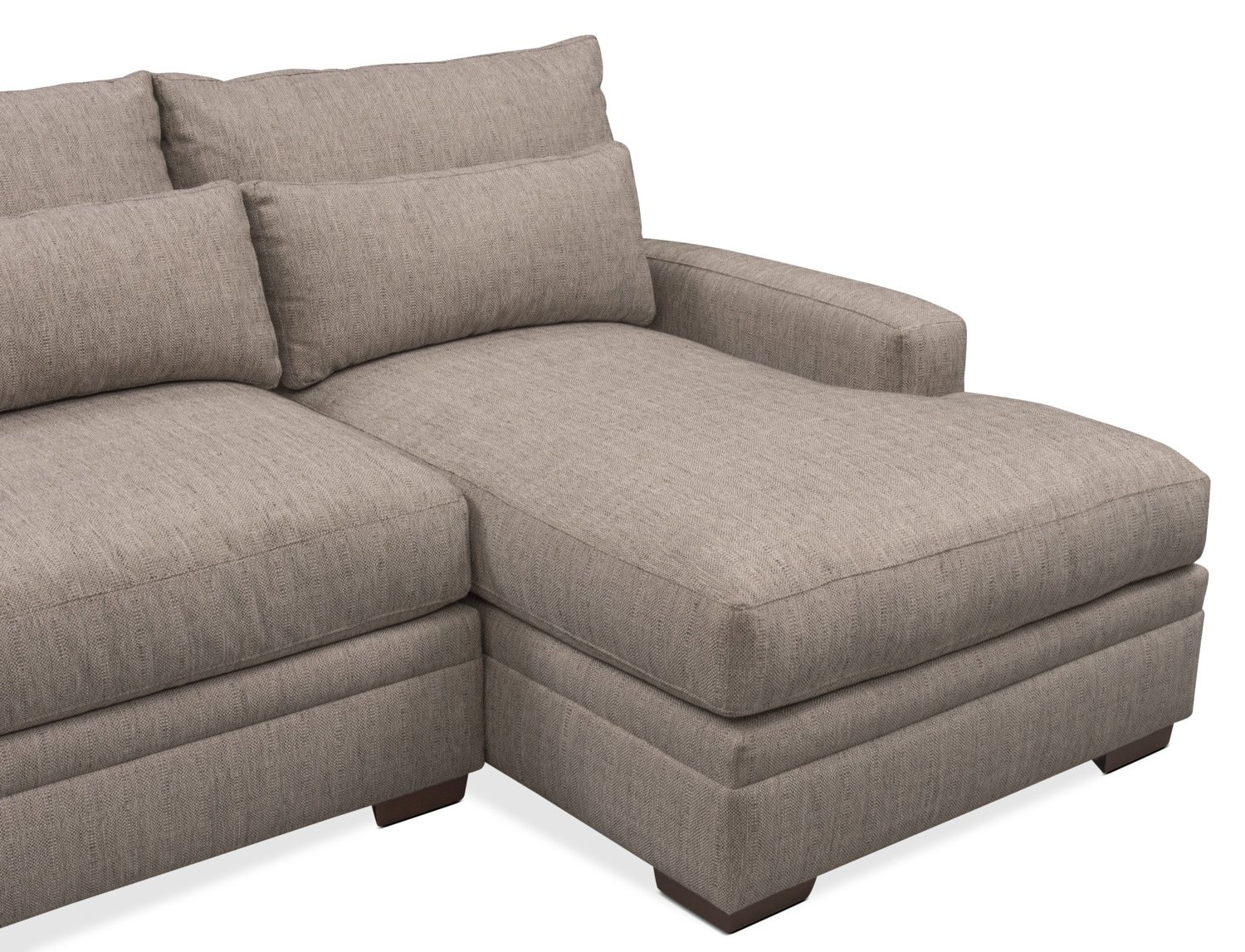 Vcf Sofa Chaise | Baci Living Room Pertaining To Mcdade Graphite 2 Piece Sectionals With Laf Chaise (View 21 of 25)