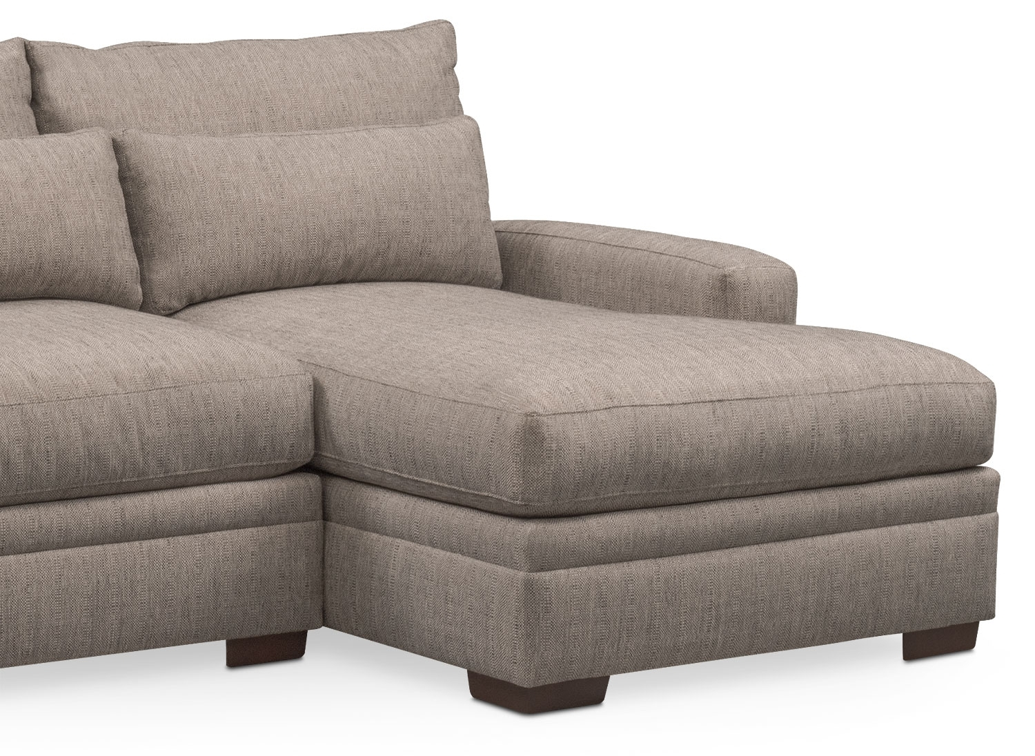 Vcf Sofa Chaise | Baci Living Room With Mcdade Graphite 2 Piece Sectionals With Raf Chaise (Image 24 of 25)