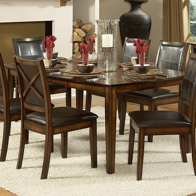 Verona Dining Table Homelegance | Furniture Cart With Regard To Verona Dining Tables (Photo 20 of 25)