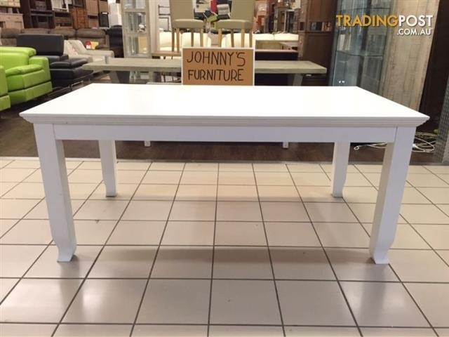 Verona Dining Table (White) For Sale In Logan Central Qld | Verona Regarding Verona Dining Tables (View 23 of 25)