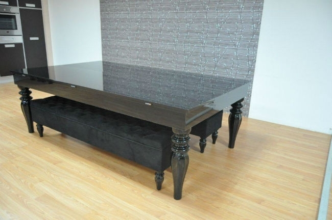 Verona Pool Dining Table 180 – Six To Eight Seater – Sam Leisure With Black 8 Seater Dining Tables (View 14 of 25)