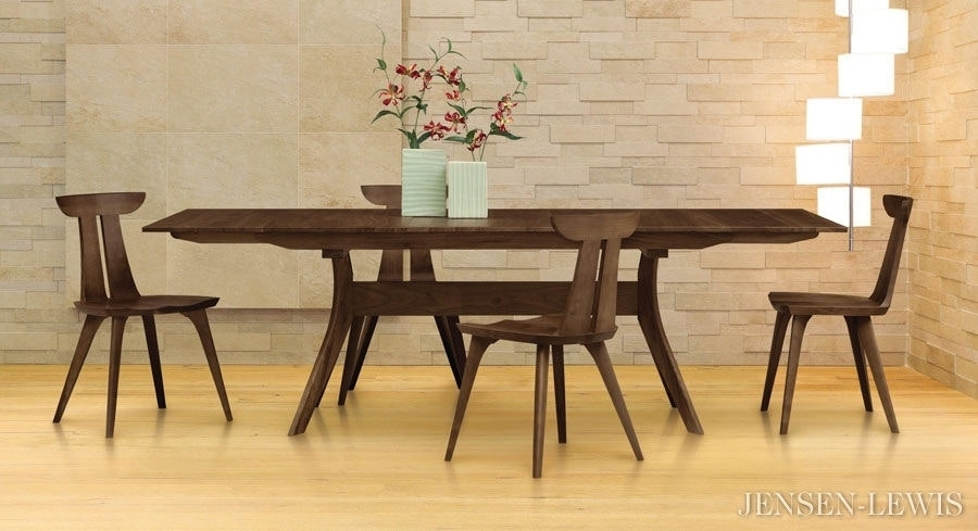 Verona Rectangular Extension Dining Table Wenge Hayneedle Intended For Chapleau Extension Dining Tables (Image 24 of 25)