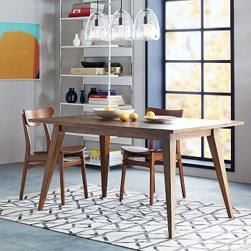 "Versa Dining Table 48"" At West Elm - Dining Tables - Dining Room intended for Helms 7 Piece Rectangle Dining Sets With Side Chairs"