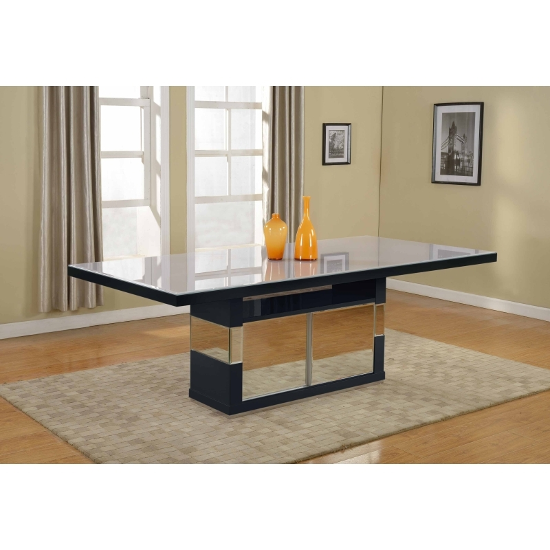 Victor Dining Table – Black – Homeitaliajoosubs With Regard To Victor Dining Tables (Image 17 of 25)
