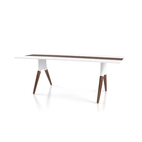 Victor Dining Table - Mikaza Meubles Modernes Montreal Modern pertaining to Victor Dining Tables